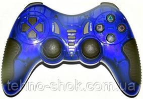 Джойстик игровой HAVIT HV-G85 USB+PS2+PS3 blue
