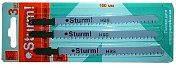 Пилки для лобзика Sturm, 100х4 метал, 3 шт. 9019-01-100x3-HSS-7