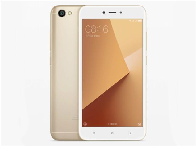 """Смартфон Xiaomi Redmi Note 5A Gold, 2/16Gb, 13/5Мп, 4 ядра, 2sim, 5.5"""" IPS, 3080mAh, 4G., фото 1"""