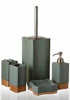 Набор аксессуаров для ванной комнаты (керамика) ETERNA DB3726A