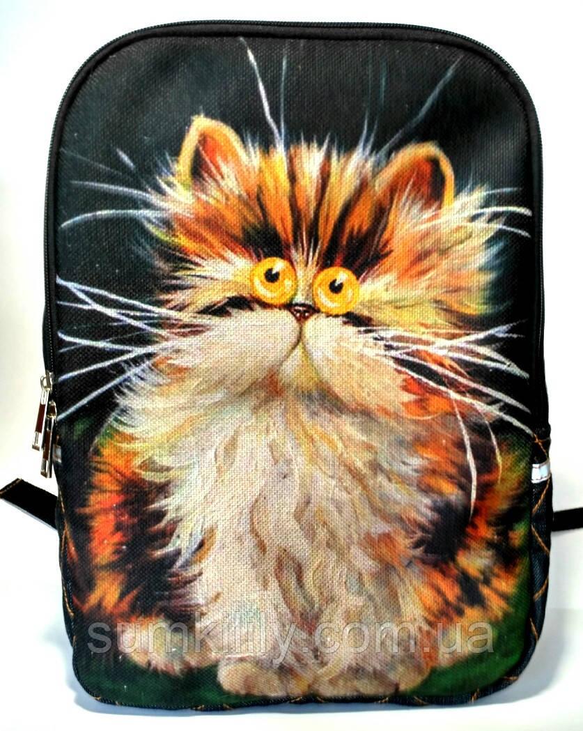 Джинсовый рюкзак Рыжик