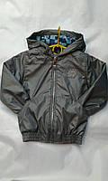 Куртка  ветровка на мальчика 6-10  лет с капюшоном