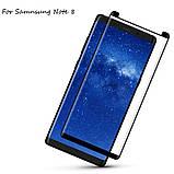 3D защитное стекло для Samsung Galaxy Note 8 (N950) New Desine - Black, фото 2