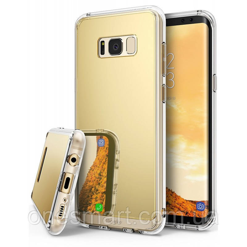 Чохол Ringke Fusion Mirror для Samsung Galaxy S8 Plus Royal Gold