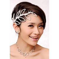 Біле романтичне прикраса для волосся