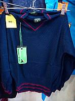 Кофта-джемпер для мальчика на 1-4 лет легкая вязка