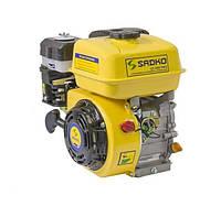 Бензиновый двигатель Sadko GE-200 Pro (шлиц. вал, фильтр в масл. ванне)