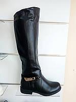 Женские зимние высокие сапоги черные, сапожки, только 37р. Полномерные!!!