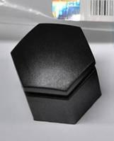 Колпачок (крышка защитная, заглушка) колёсной гайки (гайки крепления колеса) чёрный (чёрная) длинная L=24 mm, фото 1