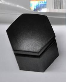 Колпачок (крышка защитная, заглушка) колёсной гайки (гайки крепления колеса) чёрный (чёрная) длинная L=24 mm