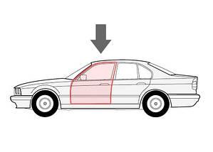 Ремкомплект стеклоподъемника Volkswagen Golf 3, Vento передняя левая дверь 1H0837461A (Фольцваген Гольф 3), фото 3