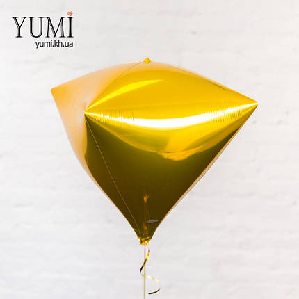 Воздушный шар с гелием в форме алмаза, фото 2