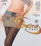 Колготки Betina с заниженой талией (бедровка), 40 DEN, Польша