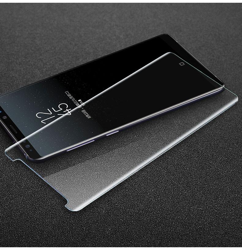 3D защитное стекло для Samsung Galaxy Note 8 (N950) - Clear