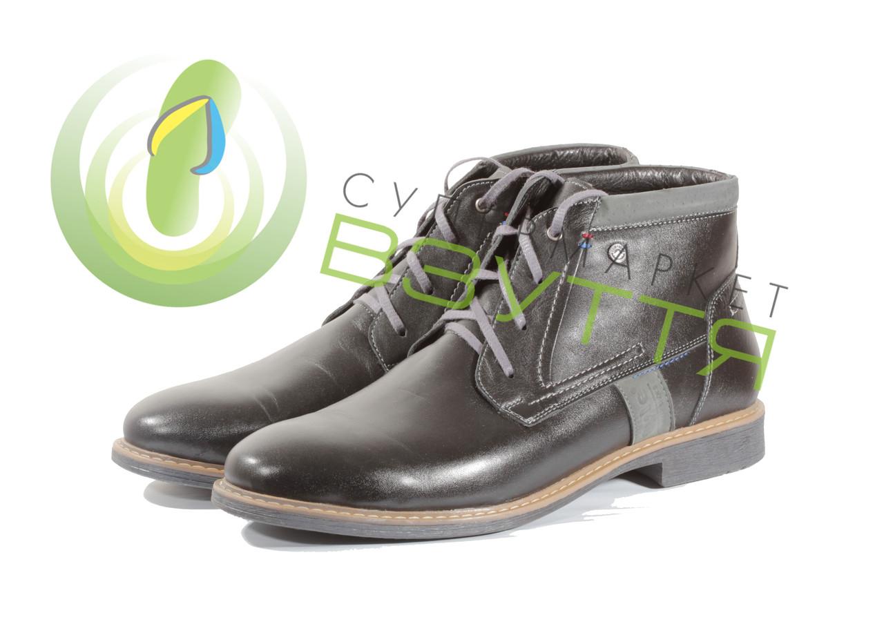 Кожаные ботинки 44размеры