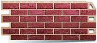 Кирпич Красный. Фасадные панели. Цокольный сайдинг.