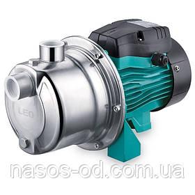 Насос центробежный поверхностный самовсасывающий Leo для воды 0.45кВт Hmax35м Qmax40л/мин (775352)