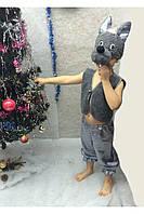 Карнавальный костюм Волк мех,велюр, фото 1