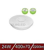 Светодиодный  LED Светильник SMART LIGHT RGB 24W dimmable 3000-6500K