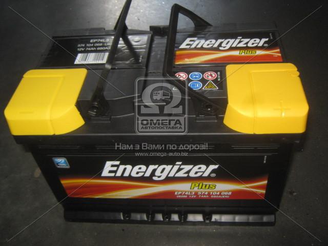 Аккумулятор 74Ah-12v Energizer Plus (278х175х190), R,EN680 574 104 068 - АВТОЗАПЧАСТЬ в Мелитополе