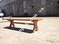 Деревянная скамейка 2000 мм