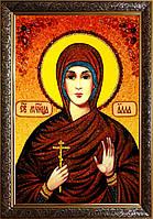 Алла икона из янтаря