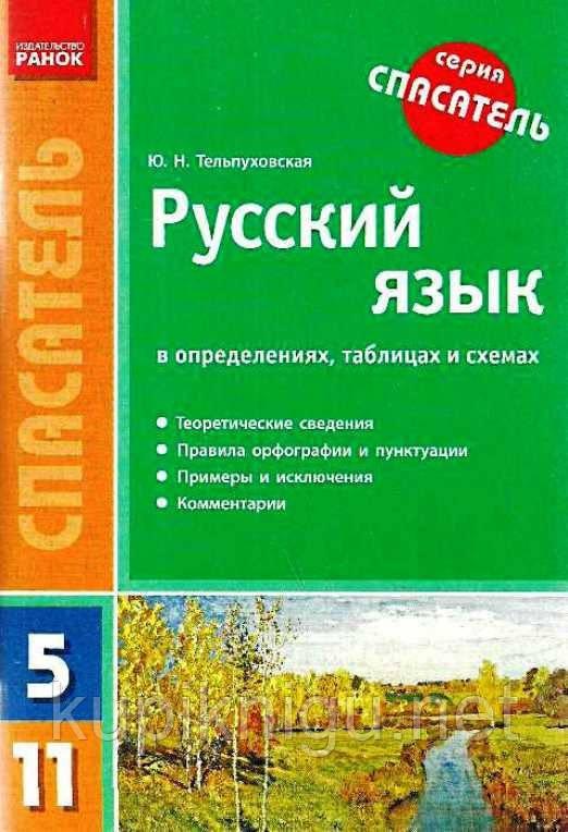 Иллюстрация 1 из 8 для русский язык 5-11 классы. Правила, таблицы.
