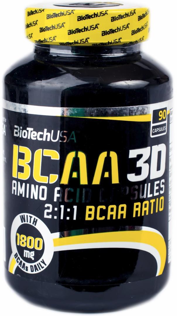 BioTech (USA) BCAA 3D (90 капс.)