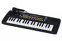Музыкальный инструмент Same Toy Электронное пианино, детский синтезатор с микрофоном