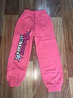 Спортивные штаны для девочки 6-9 лет на байке Галактика оптом