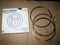 Кольца поршневые ЯМЗ 8401 П/К (МОТОРДЕТАЛЬ) (арт. 8421.1004002), ACHZX
