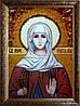 Ікона Наталія з бурштину