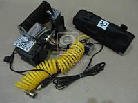 Компрессор, 12V, 10Атм, 60л/мин, 2-х поршневый, клеммы, шланг 5м.,  DK31-112