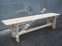 Лавка деревянная сосна 2000 мм