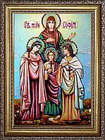 Икона Святой Софии из янтаря