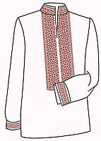 Заготовка под вышивку мужской рубашки ВЧ-1