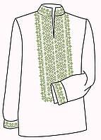 Заготовка под вышивку мужской рубашки ВЧ-2