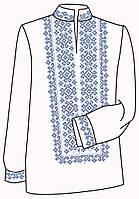 Заготовка под вышивку мужской рубашки ВЧ-3