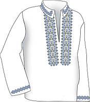 Заготовка под вышивку мужской рубашки ВЧ-8