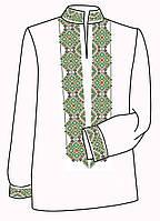Заготовка под вышивку мужской рубашки ВЧ-12