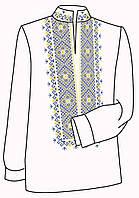 Заготовка под вышивку мужской рубашки ВЧ-14