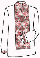 Заготовка под вышивку мужской рубашки ВЧ-20