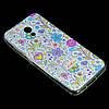 Чохол накладка для Meizu M5c силіконовий Diamond Cath Kidston, Квіткова фантазія, фото 3