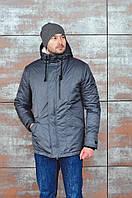 Зимняя куртка мужская Baterson Snowman Grey