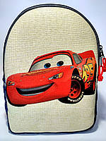 Детский джинсовый рюкзак Тачки Маквин