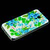 Чехол накладка для Meizu M5c силиконовый Diamond Cath Kidston, Прекрасные незабудки, фото 2