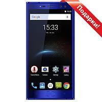"""➤Смартфон 5.5"""" Oukitel K3, 4/64GB Blue 4 ядра камера 13 Мп 6000 mAh Android7 гнутое стекло 2.5D двойная камера"""