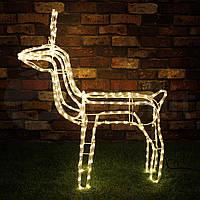 Рождественский олень,украшение  216LED 90CM CH32