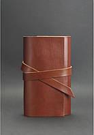 Блокнот кожаный, софт-бук коньяк (ручная работа), фото 1