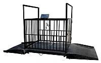 Весы электронные для взвешивания животных ВЭСТ-300Т7, до 300 кг